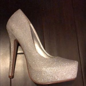 sparkly call it spring heels
